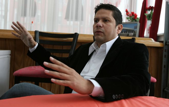 """Former police officer and Buffalo Common Council Member Robert Quintana, who went into a diversion program after being accused of fraudulently getting 'injured on duty"""" pay, is expected to announce a run for the state Assembly. (News file photo)"""