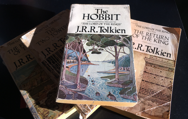 """The Hobbit"" and ""The Lord of the Rings"": Tolkien Reading Day in a Covid-19 world. (Sean Kirst/Buffalo News)"