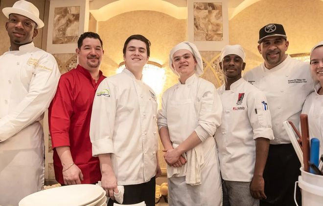 Smiling chefs at the 2019 Taste of Education. (Don Nieman/Special to The News)