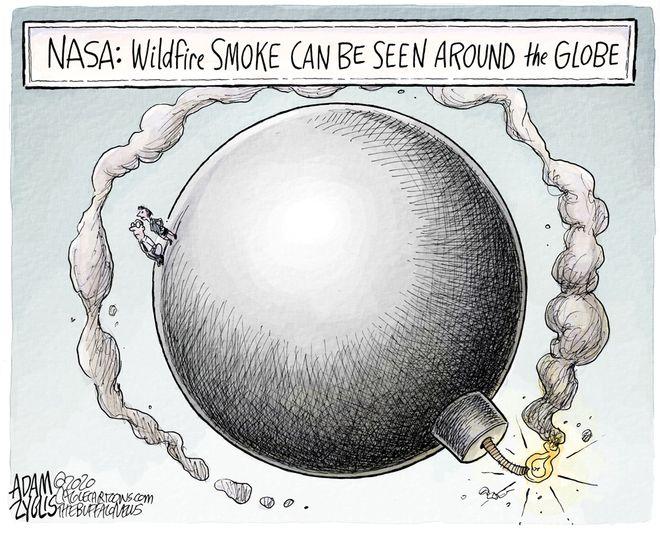 The smoke: January 16, 2020