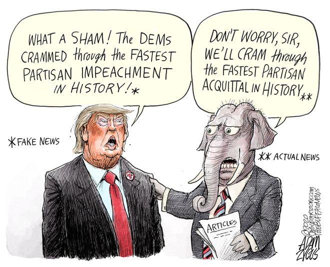 Sham process: January 23, 2020