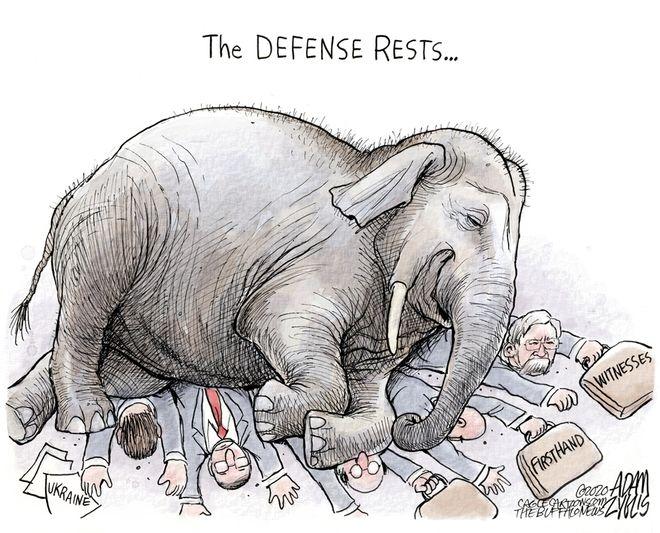 Trump defense: January 29, 2020