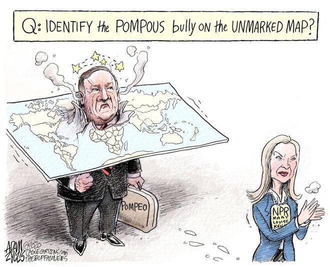 Secretary Pompous: January 30, 2020