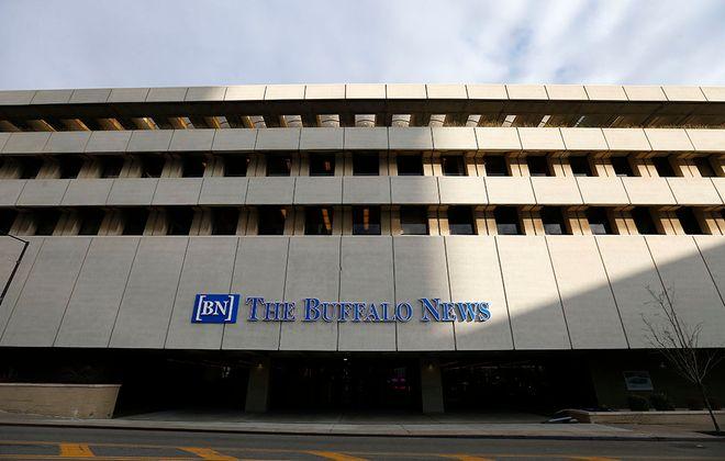 Exterior of The Buffalo News building. (Mark Mulville/Buffalo News)