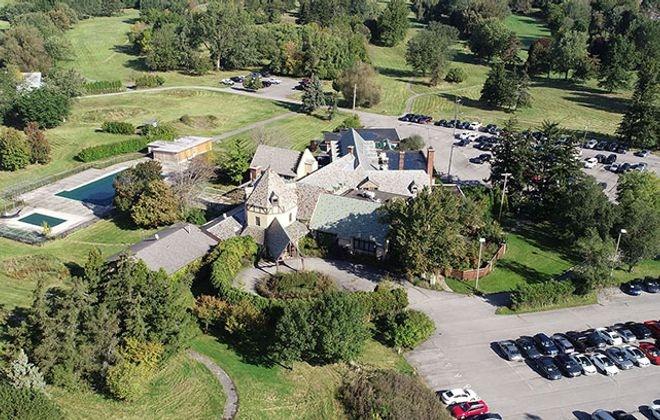 The clock is ticking on a land swap involving the former Westwood Country Club in Amherst. Town officials and the property's owners remain divided over land values and other stumbling blocks. (Derek Gee/Buffalo News)