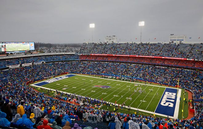 The Buffalo Bills play the New York Jets during the last regular season game of the year at New Era Field in Orchard Park, Sunday, Dec. 29, 2019. (Derek Gee/Buffalo News)