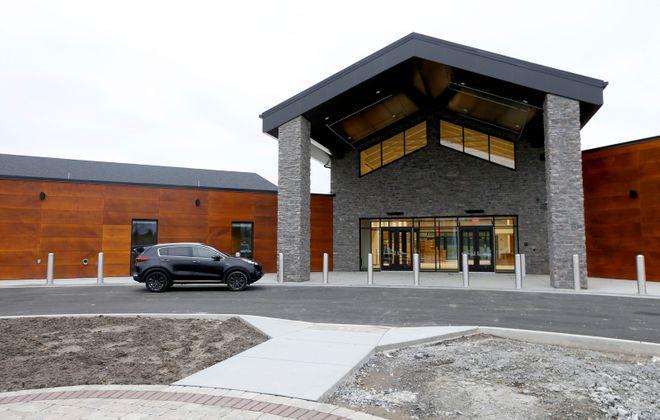 The new Orchard Park Community Activities Center on California Road on Tuesday, Jan. 14, 2020. (Robert Kirkham/Buffalo News)