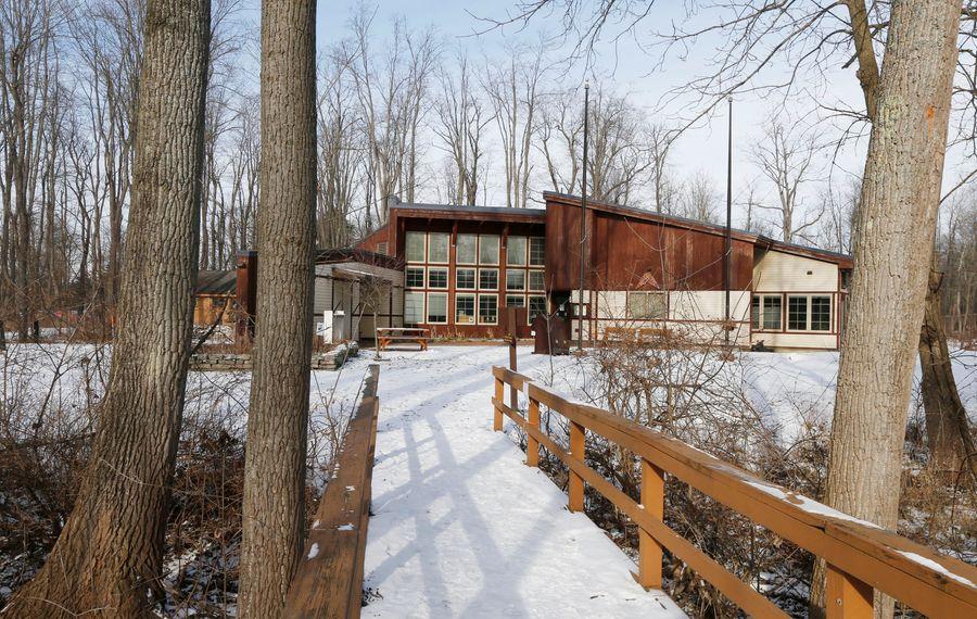 The Education Center at Reinstein Woods in Cheektowaga. (Robert Kirkham/Buffalo News)