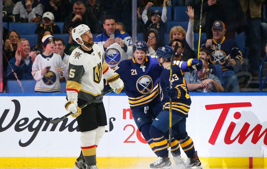 Sabres Game Day: A huge task awaits in Vegas