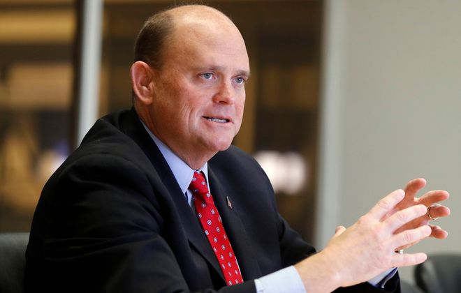 Rep. Tom Reed, R-Corning, needs to lead the task of resolving the border crisis that threatens Western New York, including his 23rd Congressional District. (Mark Mulville/Buffalo News)