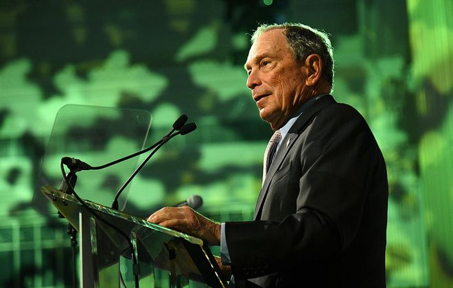 Michael Bloomberg. (Getty Images for Hudson River Park)