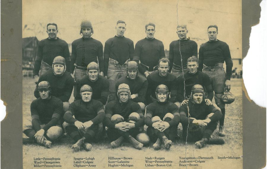 The 1921 Buffalo All-Americans had their season sidetracked by scandal and lost a surefire championship through some combination of greed, bravado, desperation, politics and alleged outright trickery. (Photo courtesy of Pro Football Hall of Fame)
