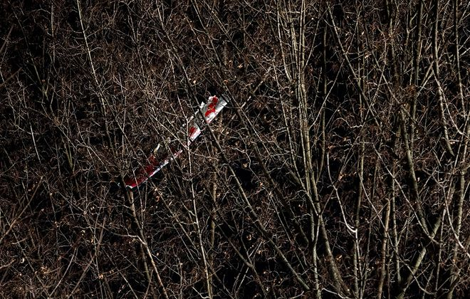 The scene of the helicopter crash in Silver Spring Township on Jan. 9, 2020. (Sean Simmers | ssimmers@pennlive.com)