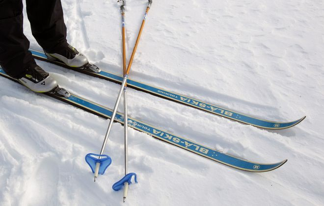 Skiing is one of the many options for those who want to make the most out of the winter months in Western New York.  When it comes to the cross-country kind, the only equipment needed is the proper clothing, skis, poles and ski boots.   (Sharon Cantillon/News file photo)