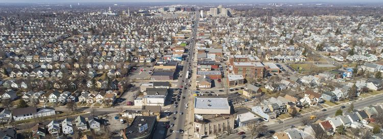 Bailey Avenue, looking north near Kensington Avenue. (Derek Gee/News file photo)