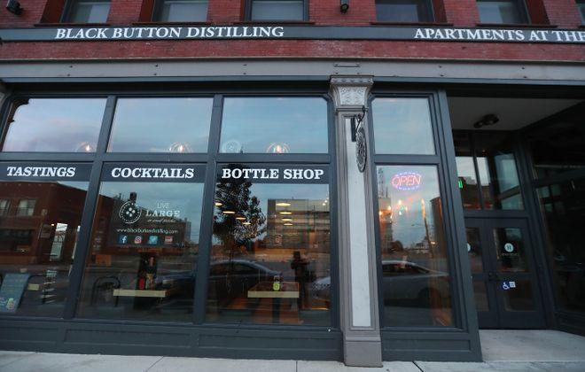 Black Button representatives announced that the Buffalo tasting room would close, effective Jan. 4. (Sharon Cantillon/News file photo)