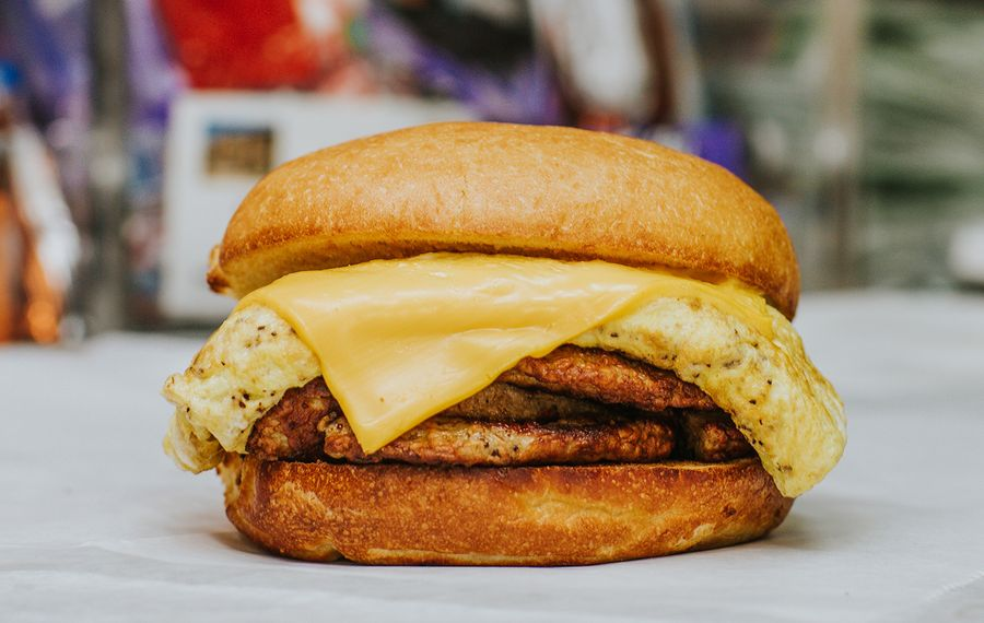 Good Guys Deli and Grill on Jersey Street is bodega breakfast sandwich perfection. (Katie Addo)