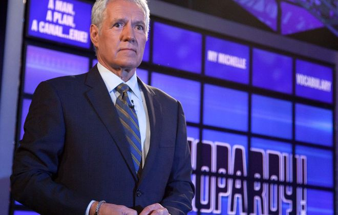 "Host of ""Jeopardy!"" Alex Trebek. (Getty Images)"