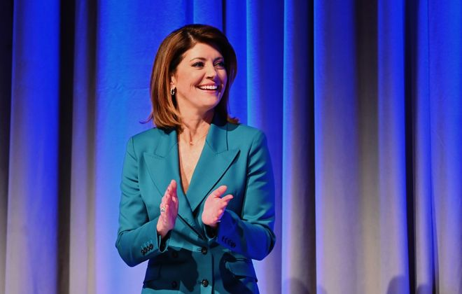 """""""CBS Evening News"""" ratings take a tumble locally with Norah O'Donnell as anchor. (Getty Images)"""