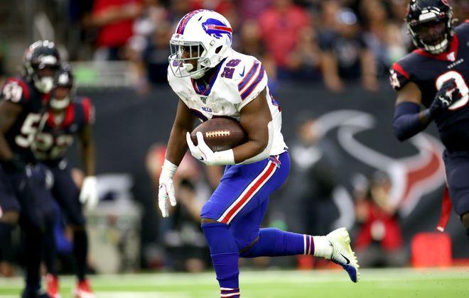 Bills running back Devin Singletary. (Getty Images)