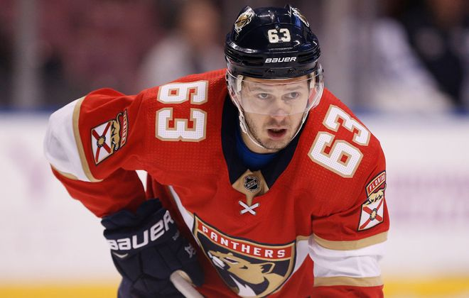 Evgenii Dadonov has a team-high 23 goals for the Florida Panthers. (Getty Images)