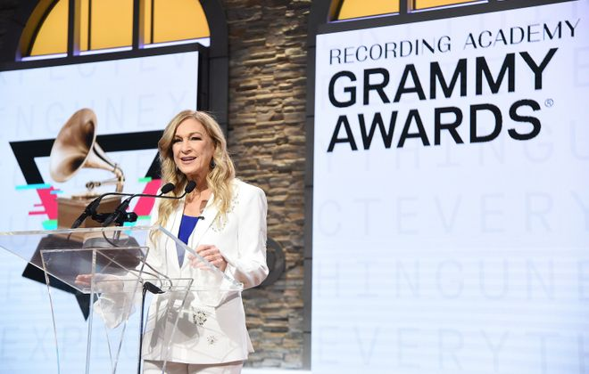 Deborah Dugan was ousted after six months as CEO of the Recording Academy. (Getty Images)