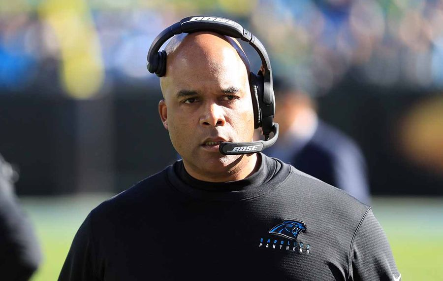 Eric Washington spent the past two seasons as the Carolina Panthers' defensive coordinator. (Streeter Lecka/Getty Images)