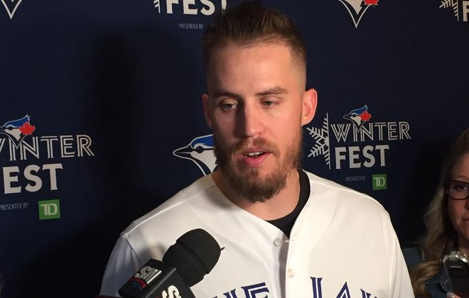 Blue Jays pitcher Ken Giles denied knowing about any sign-stealing activities when he played for the Astros in 2017 (Mike Harrington/Buffalo News).