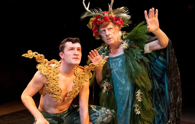 "Irish Classical Theatre and the BPO will collaborate on ""A Midsummer Night's Dream"" with Brendan Didio as Puck, left, and Vincent O'Neill as Oberon. (Photo by Gene Witkowski)"