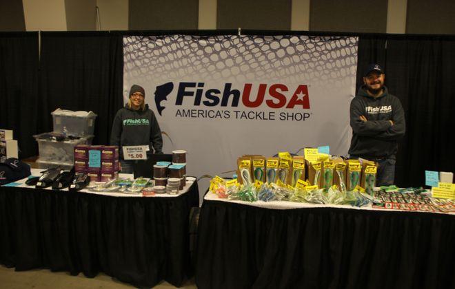 Fish USA has a huge display at this year's Greater Niagara Fishing and Outdoor Expo set for Jan. 17-19 at the Conference and Event Center Niagara Falls. (Bill Hilts, Jr./Buffalo News)