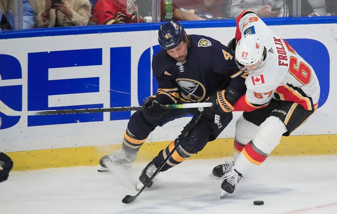 Zach Bogosian's entire cap hit is now off the Sabres' books. (Harry Scull Jr./News file photo)