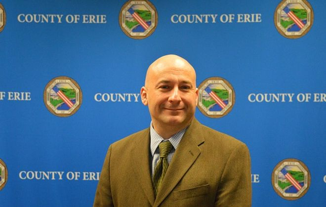 County Executive Mark Poloncarz has appointed his former deputy budget director as the new head of the county's Department of Real Property Tax Services. (Courtesy of Erie County)