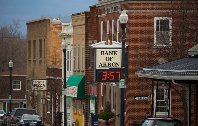 Bank of Akron shareholders approved the sale of the bank. (News file photo)
