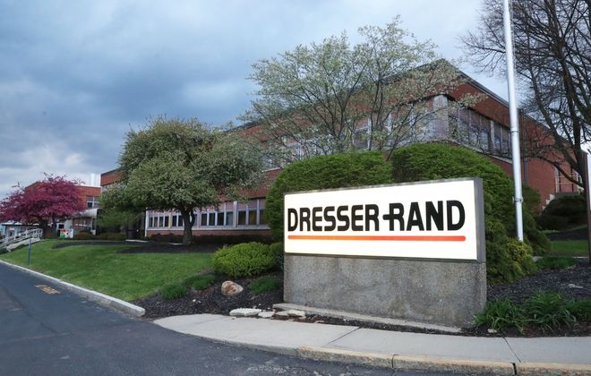 A former Dresser-Rand plant in Wellsville is nearing its closing date. (News file photo)