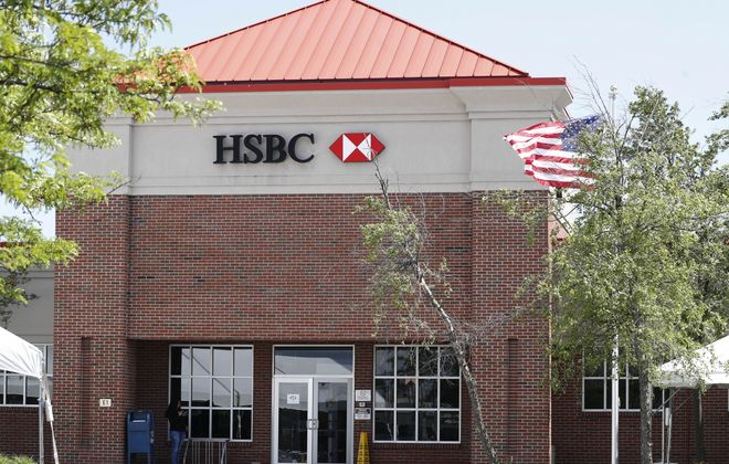 HSBC returned to Buffalo-area branch banking last September,in Depew. (News file photo)