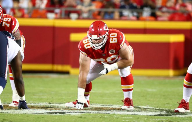Ryan Hunter, in his second season in the NFL, is with the Chiefs in the Super Bowl. (Steve Sanders/Kansas City Chiefs)