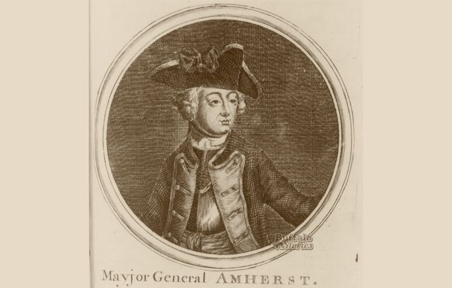 Lord Jeffery Amherst, from whose name the Town of Amherst is derived.