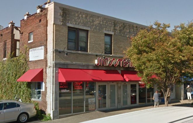 Jim's Steakout at 3094 Main St. in University Heights. (Google Street View)
