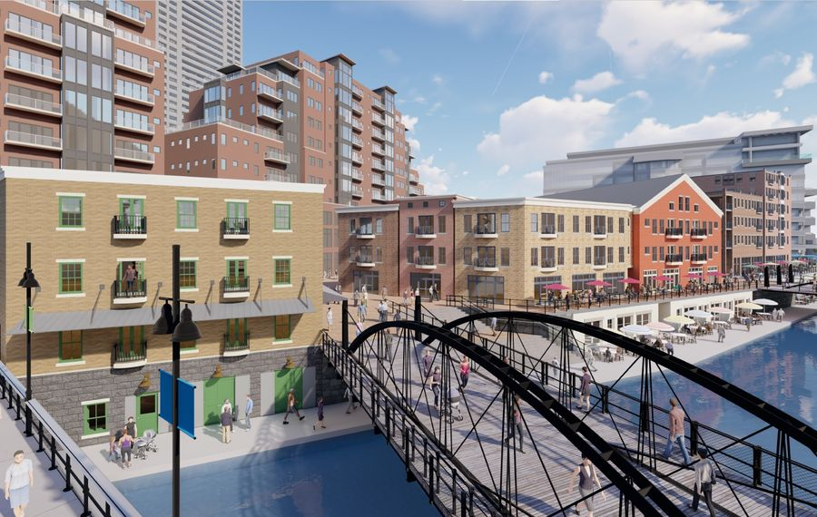 New York State unveils its vision for long-vacant North Aud Block