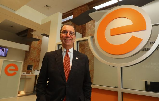 Evans Bank, led by David J. Nasca, set a record for profits for the fourth straight year. (John Hickey/News file photo)
