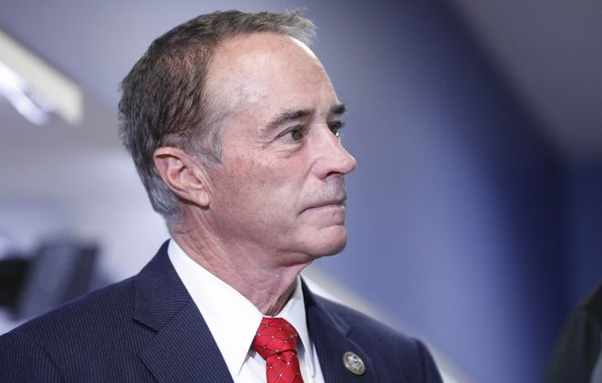 As part of the GOP cabal that sought to undermine government, Chris Collins has succeeded in ways he never imagined. Now he should pay for it. (Derek Gee/News file photo)