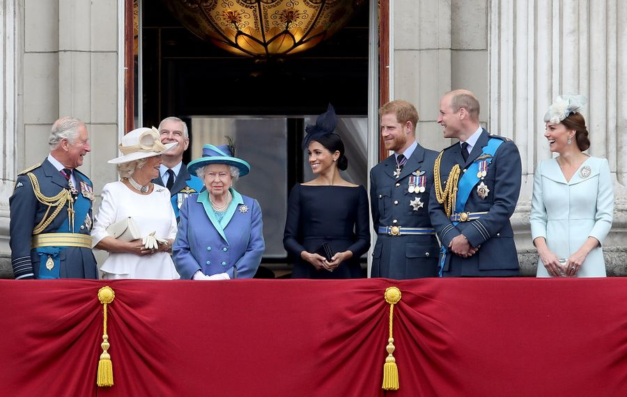 """Jeff Simon writes, """"If Meghan and Harry want to withdraw as much as is seemly from the British Royal Family racket, I'm on their side."""" (Getty Images)"""