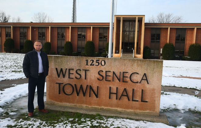 West Seneca Supervisor Gary Dickson says the old board is responsible for poor budgeting. (John Hickey/Buffalo News)