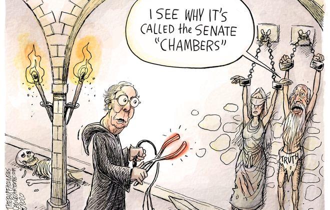 Senate chambers: February 2, 2020