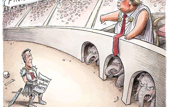 Romney vote: February 8, 2020