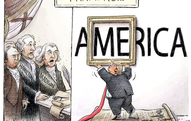 Trump precedent: February 9, 2020