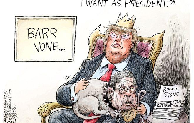 Attorney General Barr: February 13, 2020