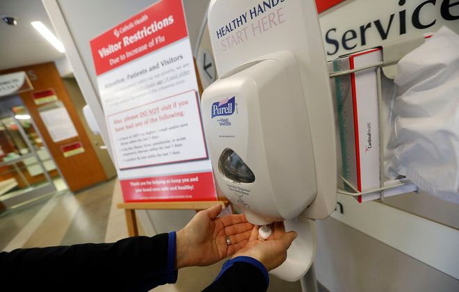 Regular washing hands or sanitizing them can reduce the spread of viruses such as the flu. (Derek Gee/News file photo)