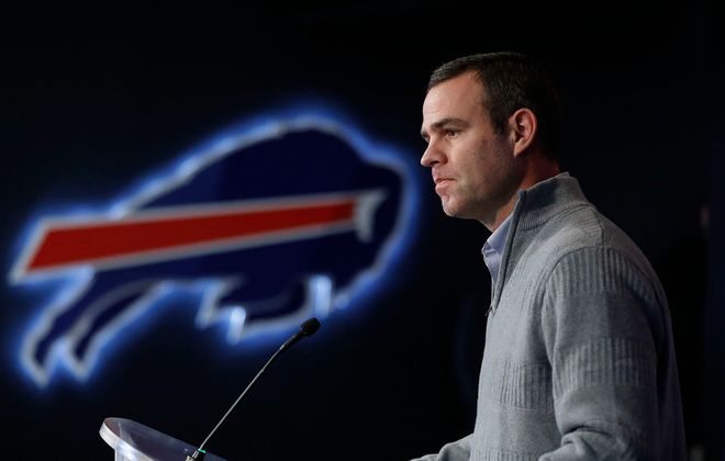 Buffalo Bills General Manager Brandon Beane is preparing for the start of free agency. (Derek Gee/News file photo)