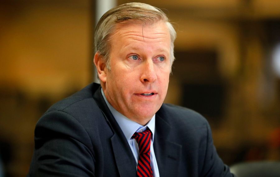 State Sen. Chris Jacobs (Mark Mulville/Buffalo News)
